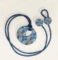 Polymer Clay Tutorial pendant