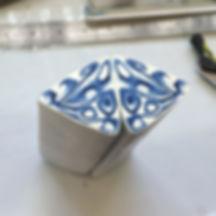 Delft cane in progress