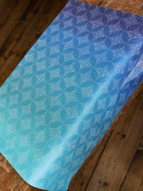 Starry Night Ocean Fabric