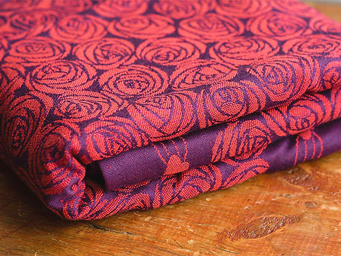 Roses Ignis Fabric