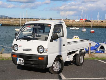 The ULTIMATE work vehicle? Suzuki Carry 4x4 Tipper