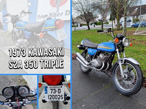 1973 Kawasaki S2 350 Triple