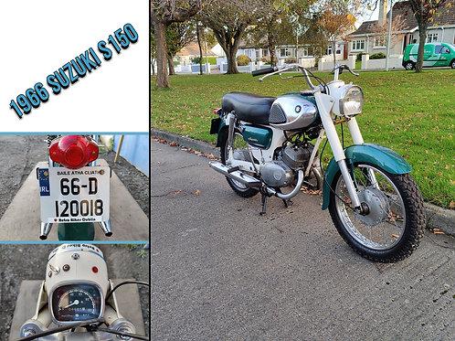 1966 Suzuki S150