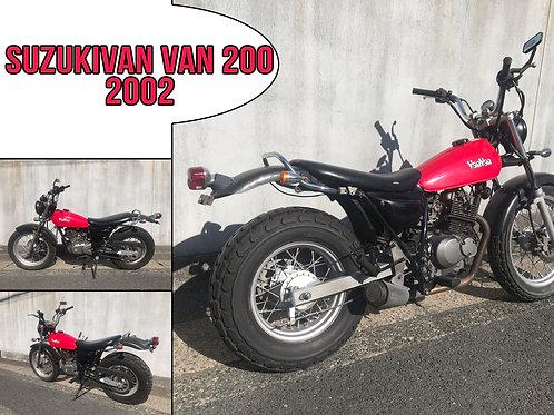 2002 Suzuki Van Van 200