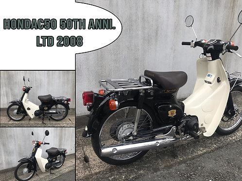 2008 Honda C50 50TH ANNI. Ltd