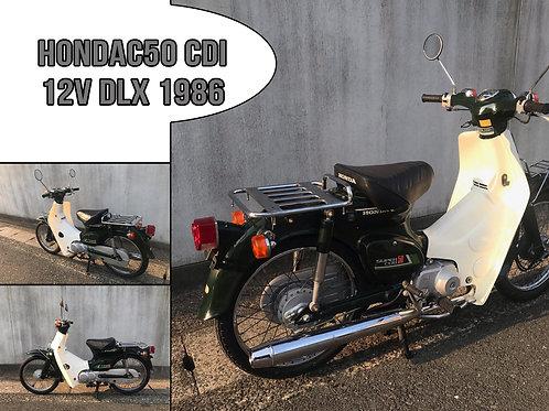 1986 Honda C50 CDI 12V DLX '86