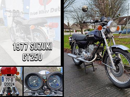 1977 Suzuki GT250