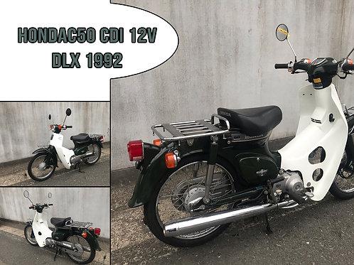 1992 Honda C50 CDI 12V DLX '92
