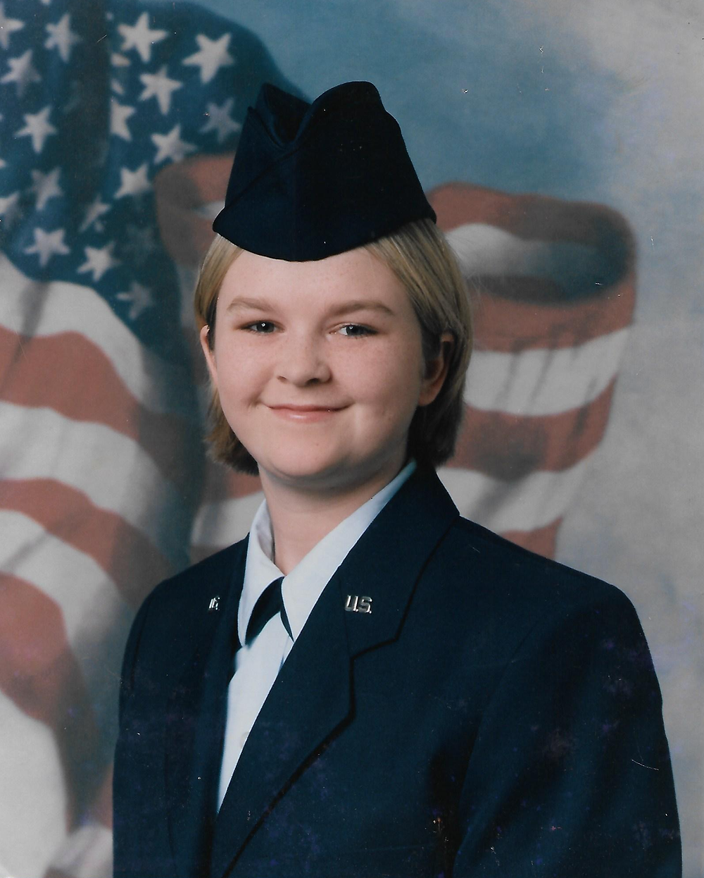 2001 USAF Basic Training Graduation Picture