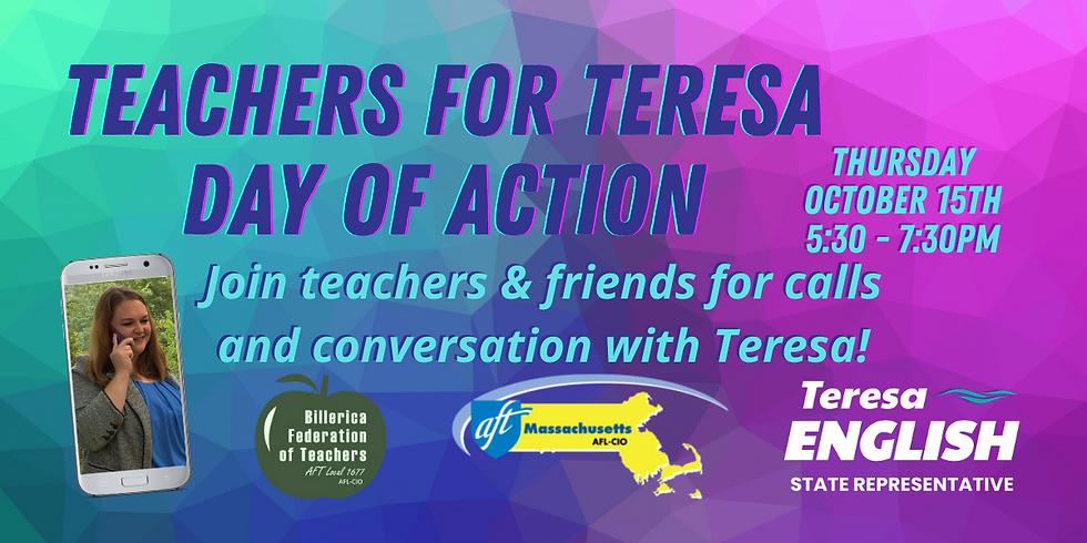 Teachers for Teresa Day of Action (Phone Bank)
