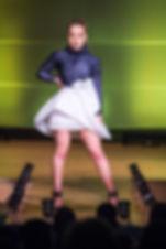 Benefit Fashion Show MICA Margaret Garrison Fashion Design MICA