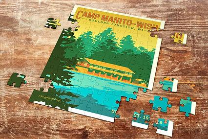 Camp Manito-Wish Puzzle