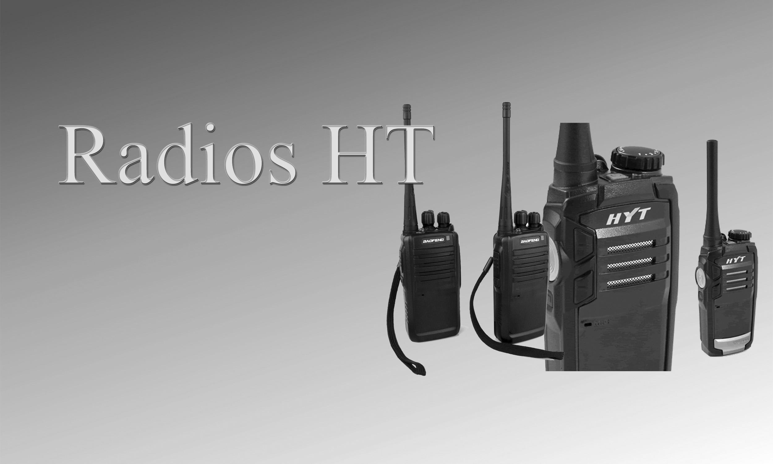 Radios HT