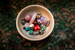 Beads for the birth necklace