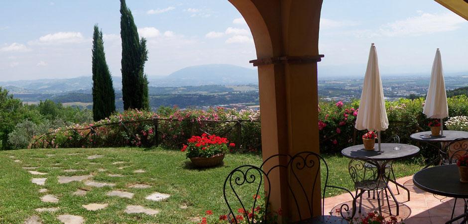 Agriturismo con vista Assisi