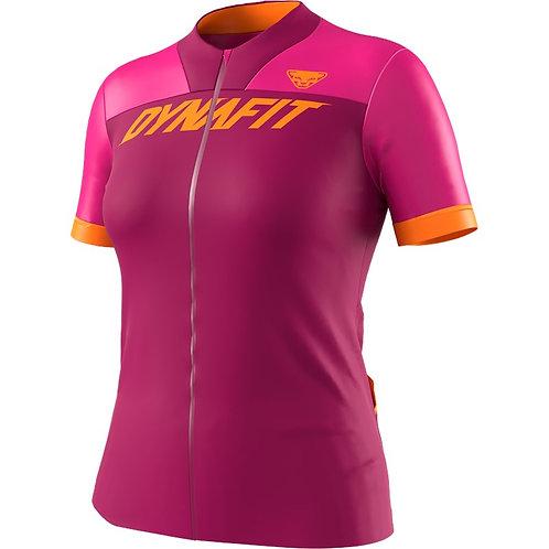 Dynafit Ride Full Zip T-Shirt Damen flamingo