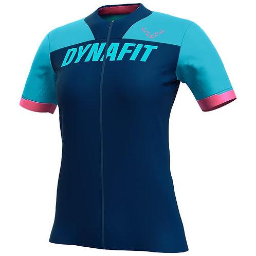 Dynafit Ride Full Zip T-Shirt Damen silvretta