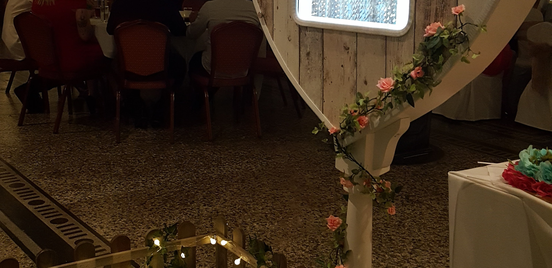 The Rustic Heart Photo Booth