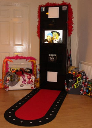 Our amazing selfie pod photo booth; available to hire!