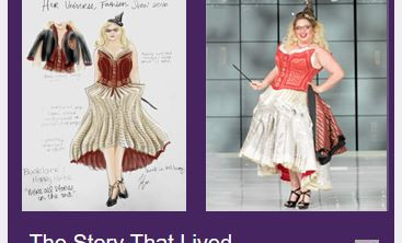 """""""HerUniverse"""" features design by The Costume House Seamstress in Fashion Show"""