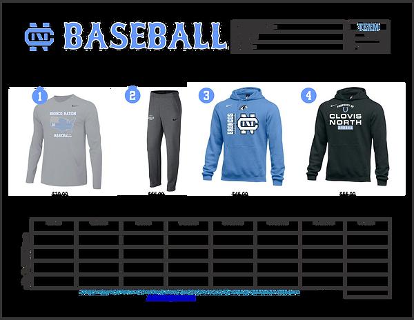 2019 Fall Baseball Gear