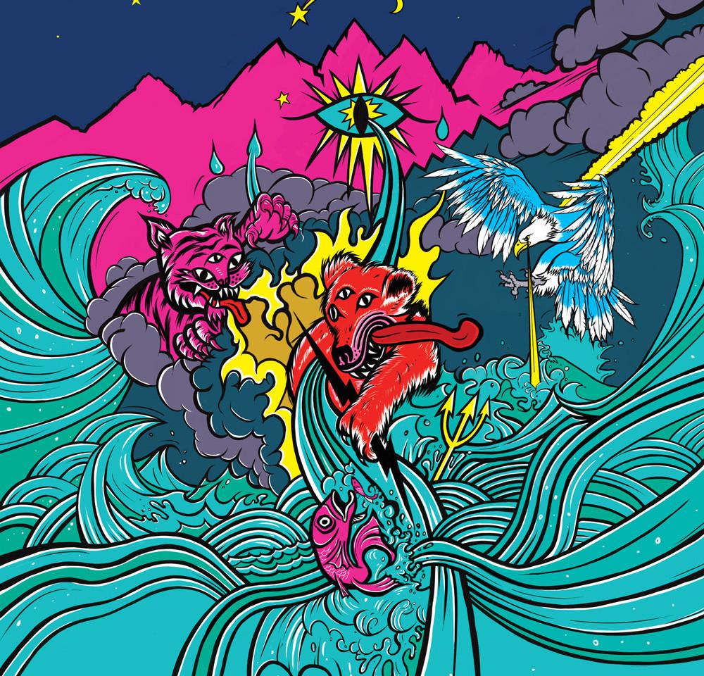 Deity Illustration