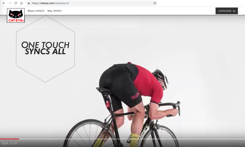 Cateye 360 degree Video