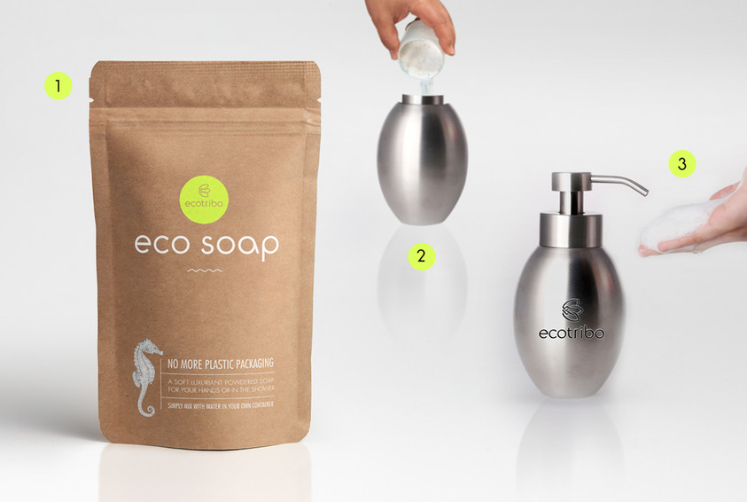 Ecotribo EcoSoap Concept