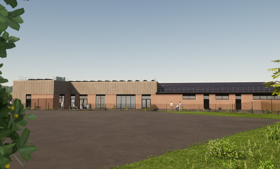 Provisional CGI view from Marlwood School