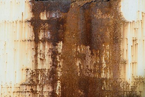 Rusty metal textures