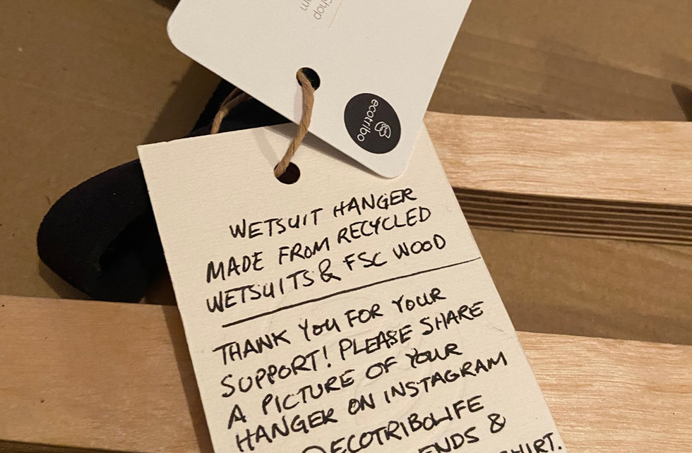 Card included with packaging