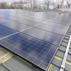 Rooftop PV panels