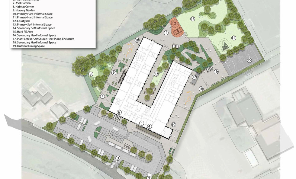 Provisional site plan
