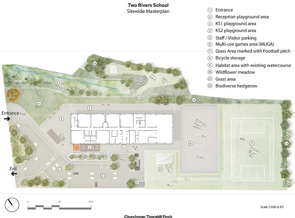 Two Rivers School Master Plan