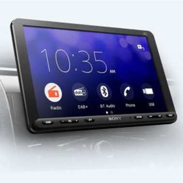 Sony 9 inch touch screen android headset