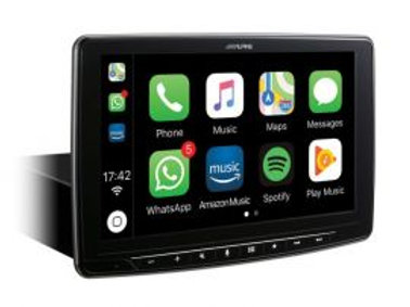 Alpine Halo touchscreen android headset