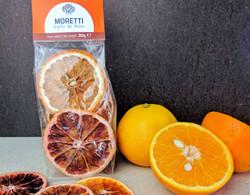 Arance essiccate da mangiare