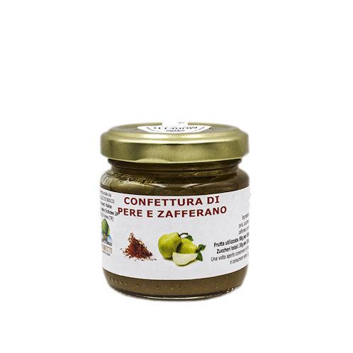 Confettura di Pere e Zafferano - 80 grammi