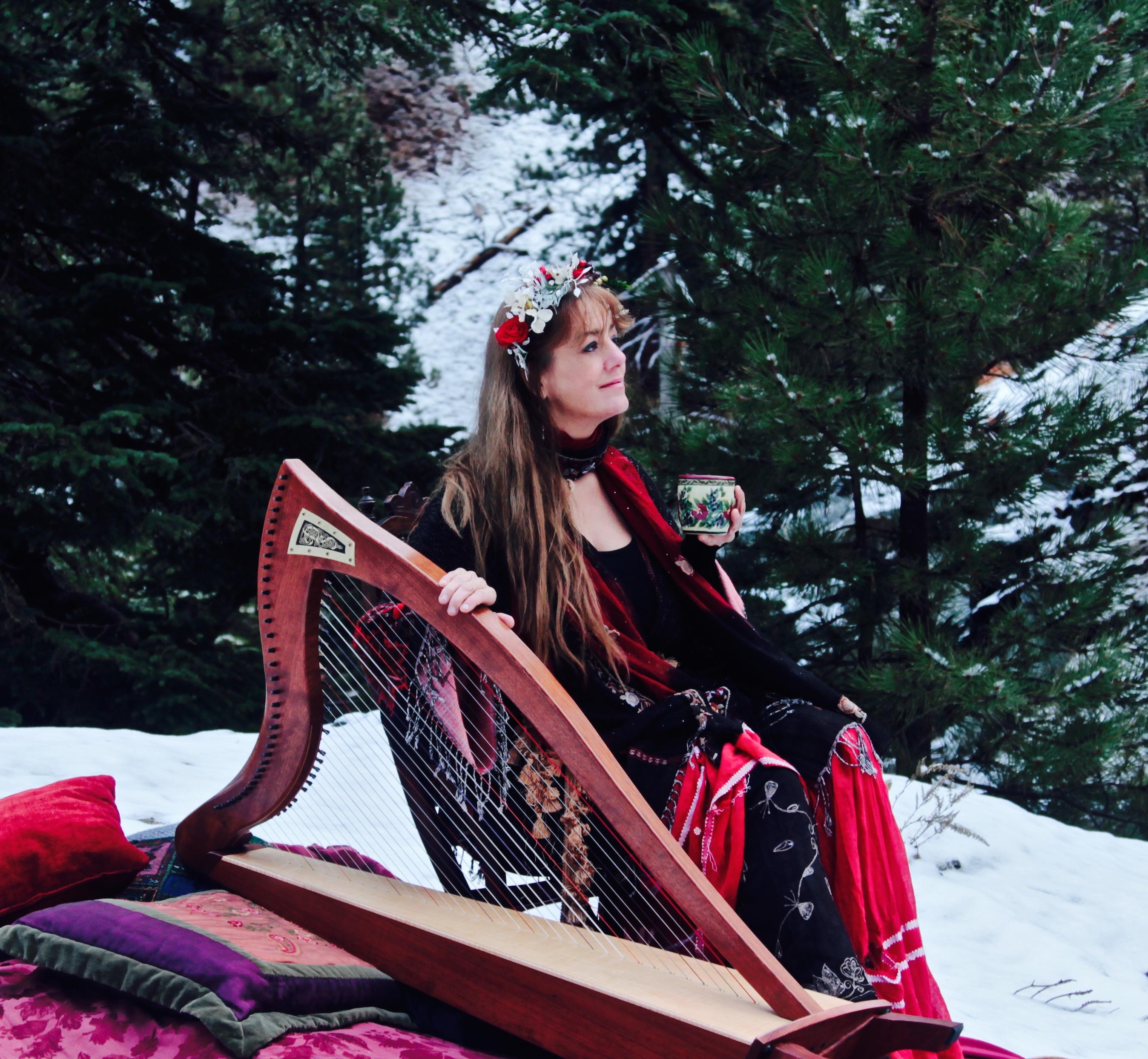 Harp for Christmas