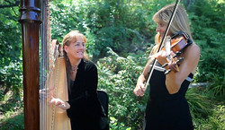 Harp and Violin Duet
