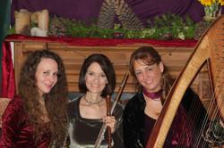 Trio- Harp, Flute and Voice