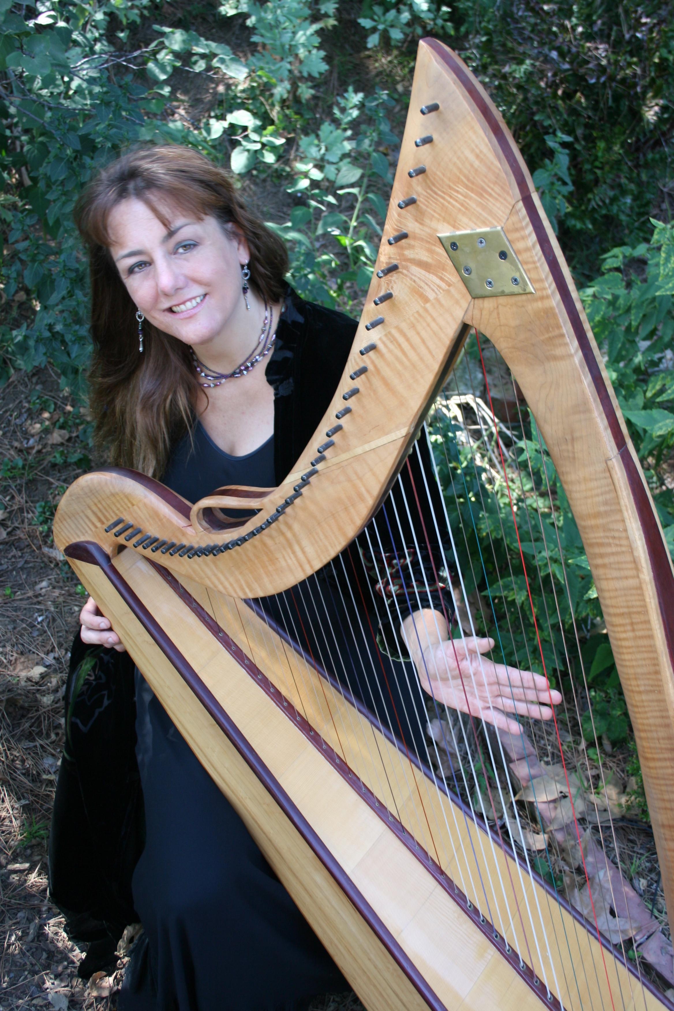 Celtic Harp Descanso Gardens