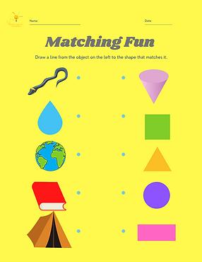 Matching Activity Sheet