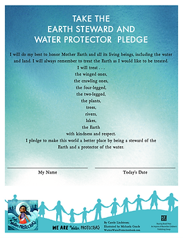 We Are Water Protectors_Pledge