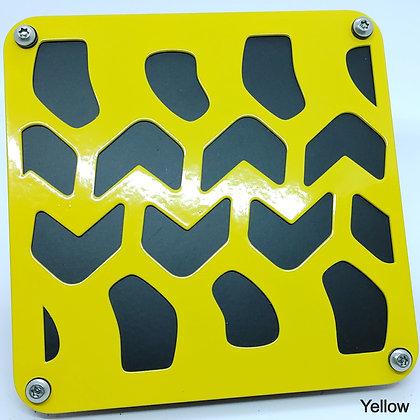 Tire Tread 1 Color Plate