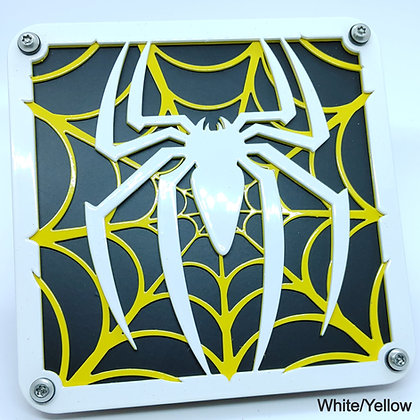 Spider Web 2 Color - White Front Plate