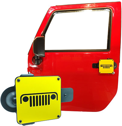 Jeep Grill 1 Color Plate