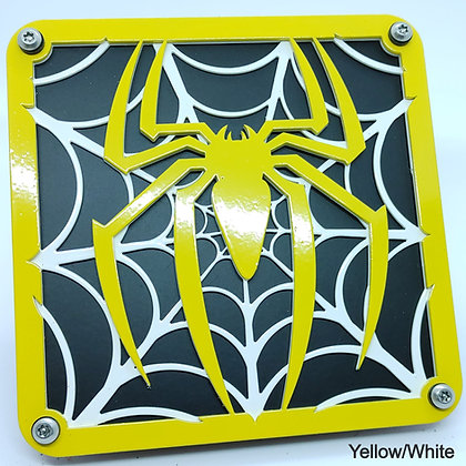 Spider Web 2 Color - Yellow Front Plate