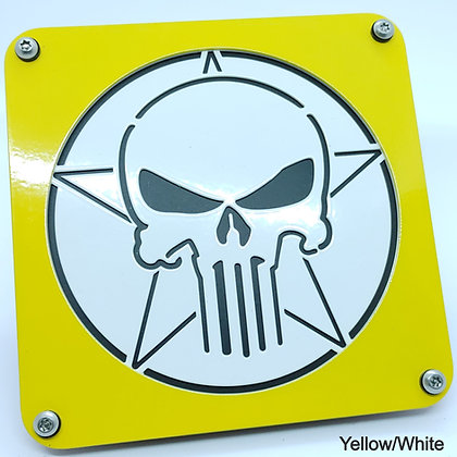 Skull 2 Color - Yellow Front Plate