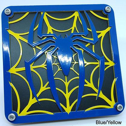 Spider Web 2 Color - Blue Front Plate